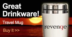 Revenge Travel Mug