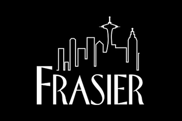Official Frasier TV Show Silver Round Necklaces