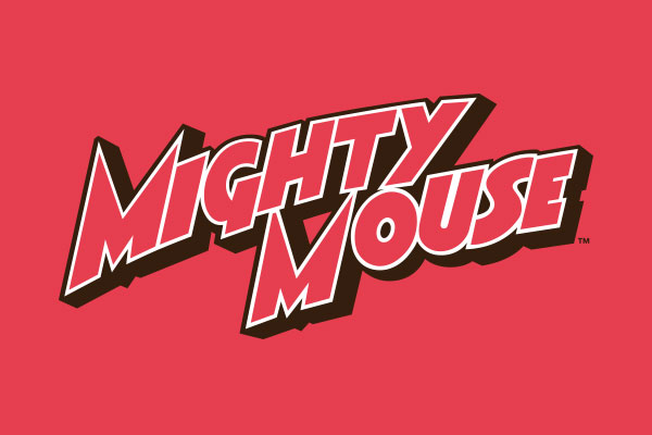 Official Mighty Mouse TV Show Shot Glasses